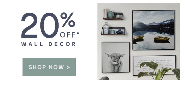 Wall Decor - 20% off